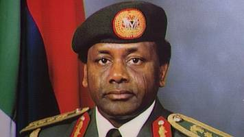 former nigerian dictator's £210m seized from jersey account
