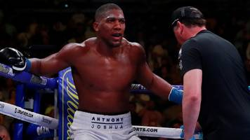 anthony joshua says he is not 'blaming anyone' for andy ruiz jr defeat