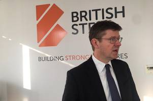 business secretary gives update on british steel after support group meets to discuss future of steelmaking