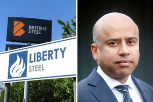 tycoon 'backing away' from rescue bid for british steel - reports