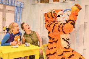from the west end to lincoln - children are going to love the tiger who came to tea