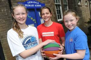 young basketball fans set up organisation to get more girls playing the sport