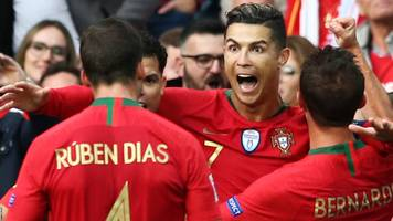 ronaldo hat-trick puts portugal in nations league final