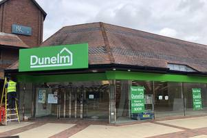 dunelm in yeovil: date revealed for official opening of brand new store