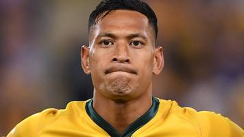 'no australian should be fired for practising their religion' - folau takes legal action over sacking