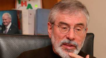 don't rush into irish unity after poll without a plan, says gerry adams
