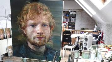 ed sheeran 'coming home' exhibition curated by dad