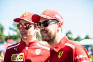 vettel & leclerc reply on tifosi questions