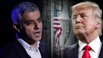 donald trump vs sadiq khan: a war of words dating back years