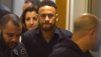 neymar gives statement to police in brazil amid rape allegation
