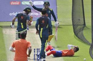 Warner unsettled after bowler knocked down in net accident