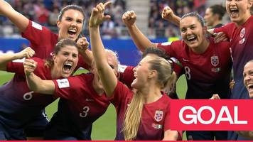 Women's World Cup 2019: Norway team celebrate second goal again Nigeria with a 'selfie'