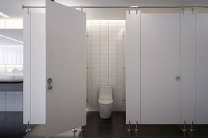 scientist explains the best way to avoid catching germs in a public toilet