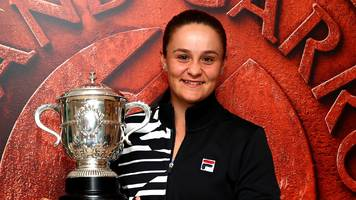 return to tennis my best decision - former cricketer barty after french open win