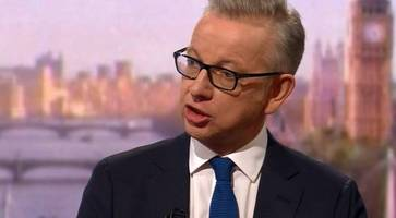 Michael Gove can 'command the confidence' of the DUP