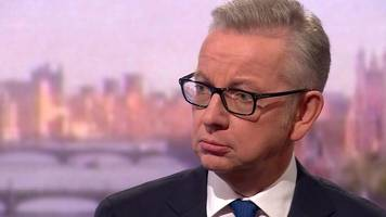Michael Gove: Taking cocaine 'was a crime and a mistake'