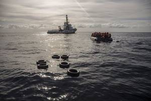 mediterranean will be 'sea of blood' without rescue boats, un warns