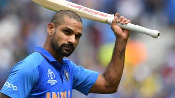 dhawan shines as impressive india beat australia at world cup