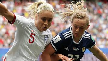 england 2-1 scotland: 'var penalty knocked wind out our sails' - erin cuthbert
