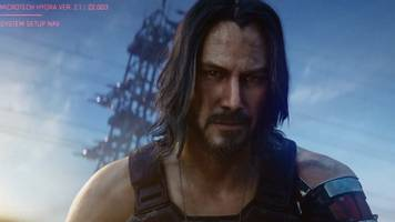keanu reeves drops in on xbox e3 event