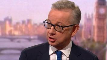 michael gove 'profoundly regrets' taking cocaine