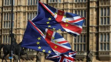 politicians vying to be uk's pm clash over brexit