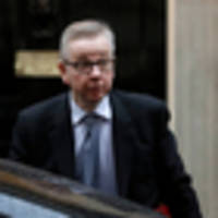British Conservative candidate Michael Gove tries to shift focus after drugs story