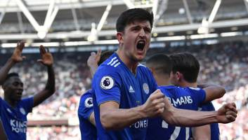 manchester united favourites to sign harry maguire after manchester city refuse to pay asking price