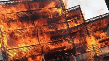 Barking fire: Barbecue may have caused' blaze at flats