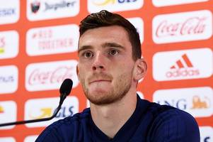 andy robertson delivers ominous message to scotland team-mates ahead of belgium clash