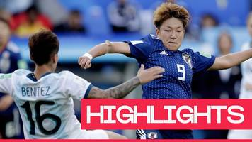 Women's World Cup 2019: Argentina hold former champions Japan for first point