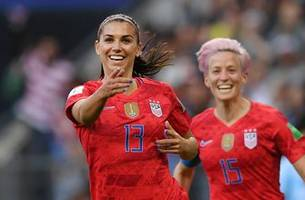 Alex Morgan's header gives the United States its first 2019 FIFA Women's World Cup™ goal