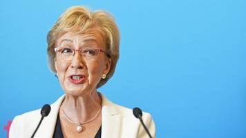 indyref2: tory candidate andrea leadsom says 'never say never'