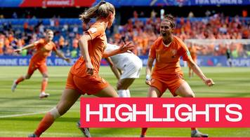 Women's World Cup 2019: Jill Roord's late goal gives Netherlands a win over New Zealand