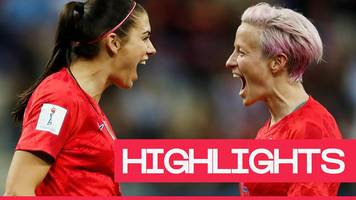 Women's World Cup 2019: United States claim biggest ever Women's World Cup win