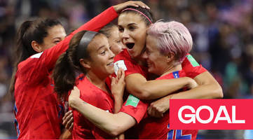Women's World Cup: Alex Morgan scores a record-breaking 12th goal for USA against Thailand