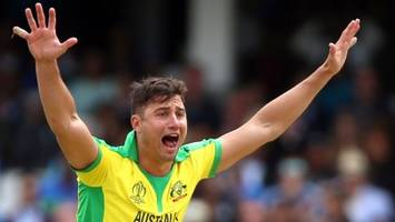 Cricket World Cup: Australia's Marcus Stoinis out of Pakistan match