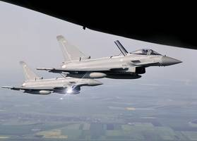 raf scrambles typhoon fighter jets to intercept russian transport aircraft
