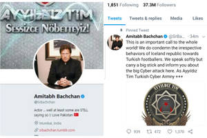 This is how Amitabh Bachchan's Twitter account looked, when hacked!