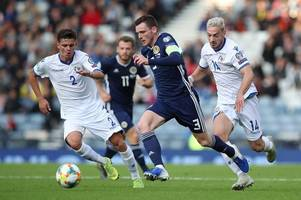 andy robertson misses out for scotland as fans left shocked at steve clarke's selection