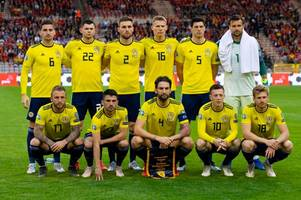 scotland player ratings as kenny mclean shines in belgium defeat