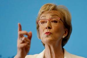tory leadership hopeful andrea leadsom will 'never say never' to second independence referendum