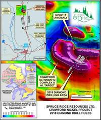 spruce ridge announces encouraging preliminary results from mineralogical studies on the crawford property