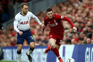 jan vertonghen and the huge compliment he paid liverpool full-back andrew robertson