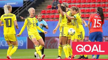 Women's World Cup 2019: Madelen Janogy seals Sweden victory with terrific solo effort