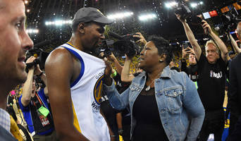 Kevin Durant's Mother Voices Support for Her Son After Achilles Injury in Finals