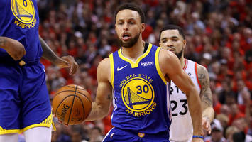 warriors overcome kevin durant injury, defeat raptors to force nba finals game 6
