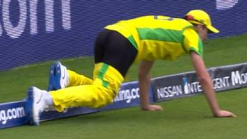 Cricket World Cup: 'Magnificent fielding, even as his trousers came off'