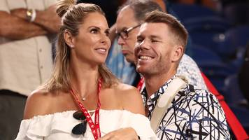 warner credits wife with keeping him motivated during ban