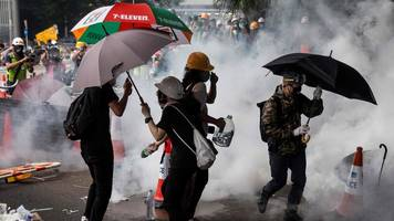 hong kong extradition protests: lam criticises 'organised riots'